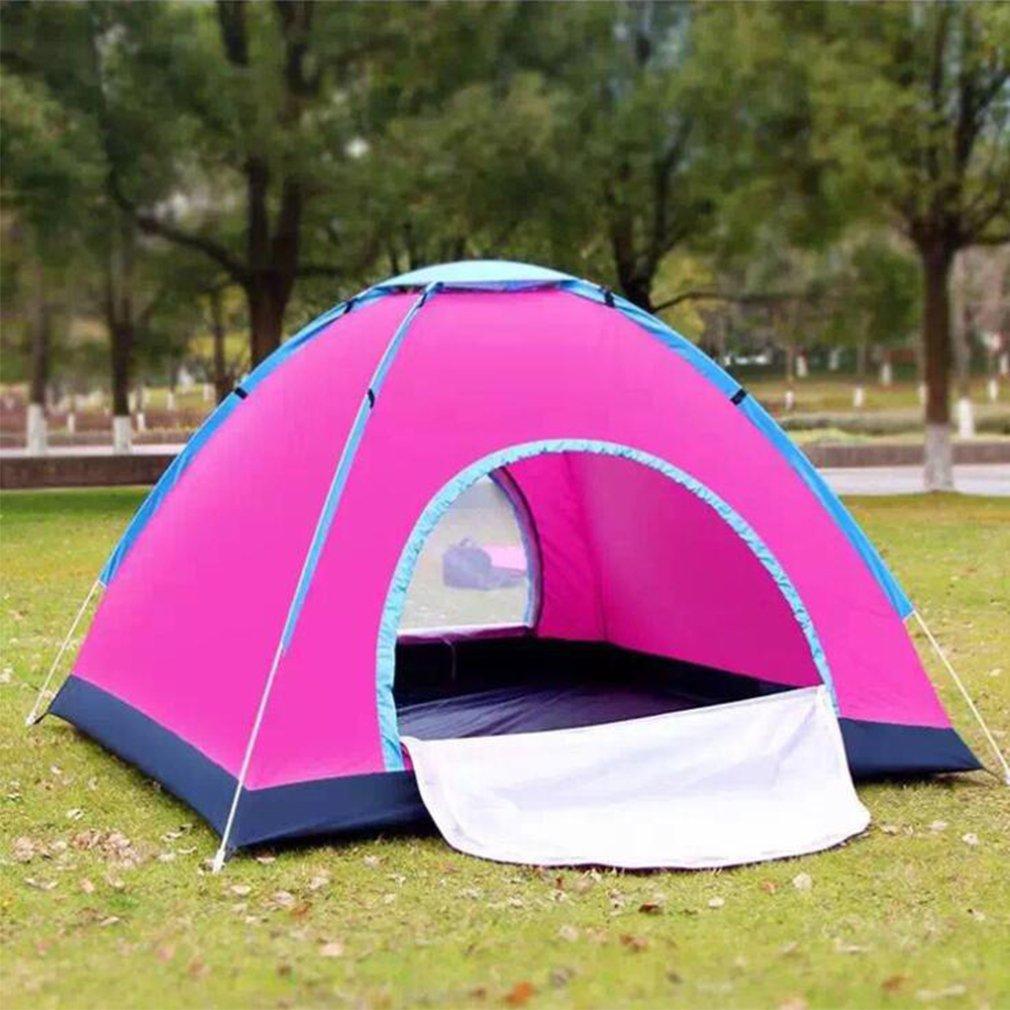 NINI Outdoor-Zelt Regenfeste Outdoor-Tricolor Optional Zelt Pop-up-Zelt Hand Geworfen Zelte