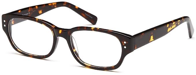 2ed3c0a1e234 DALIX Womens Circular Cute Glasses Frames Tortoise Prescription Eyeglasses  52-17-140