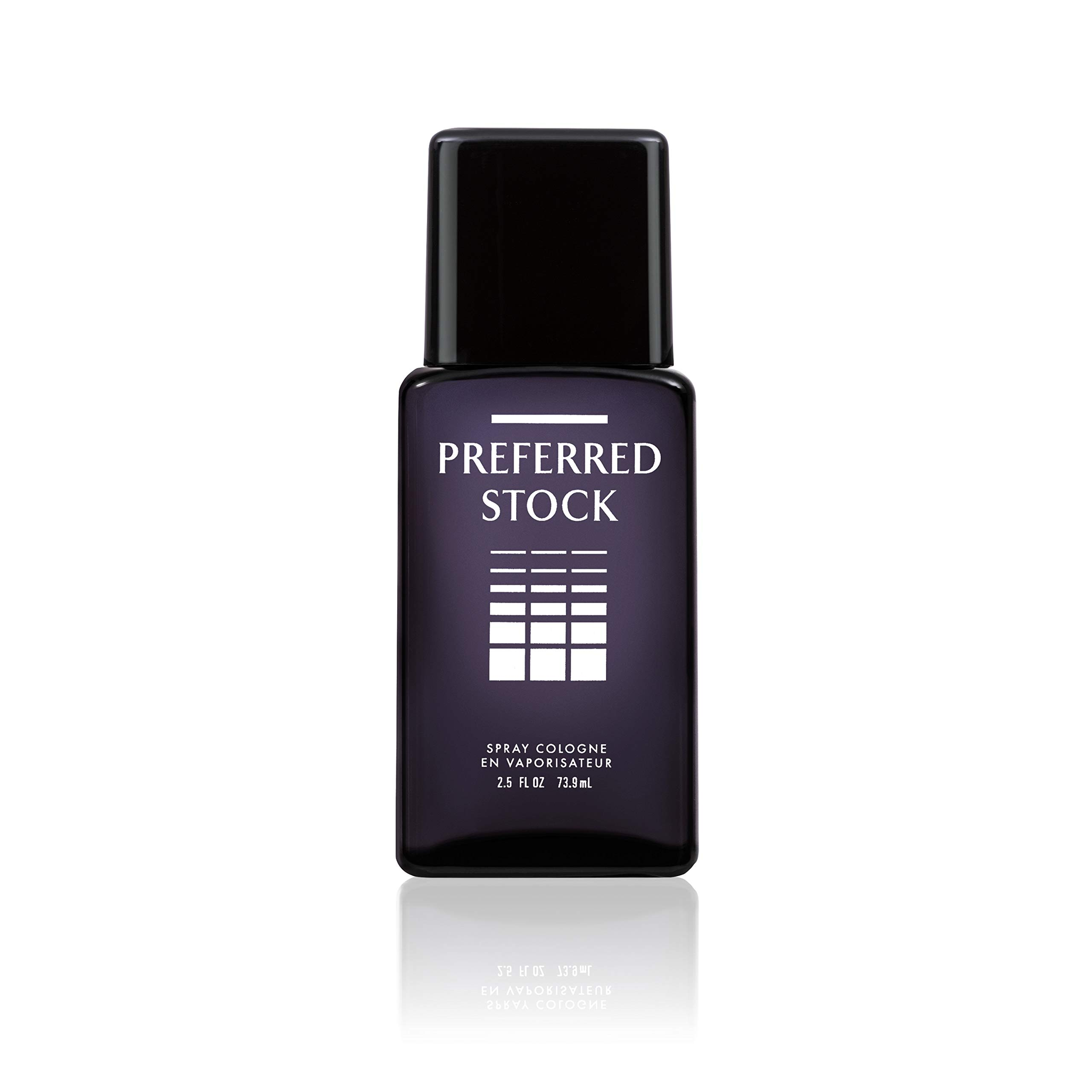 Stetson Preferred Stock Cologne Spray for Men by Stetson 2.5 Fluid Ounce Spray Bottle A Sophisticated Blend of Sandalwood, Vetiver & Citrus