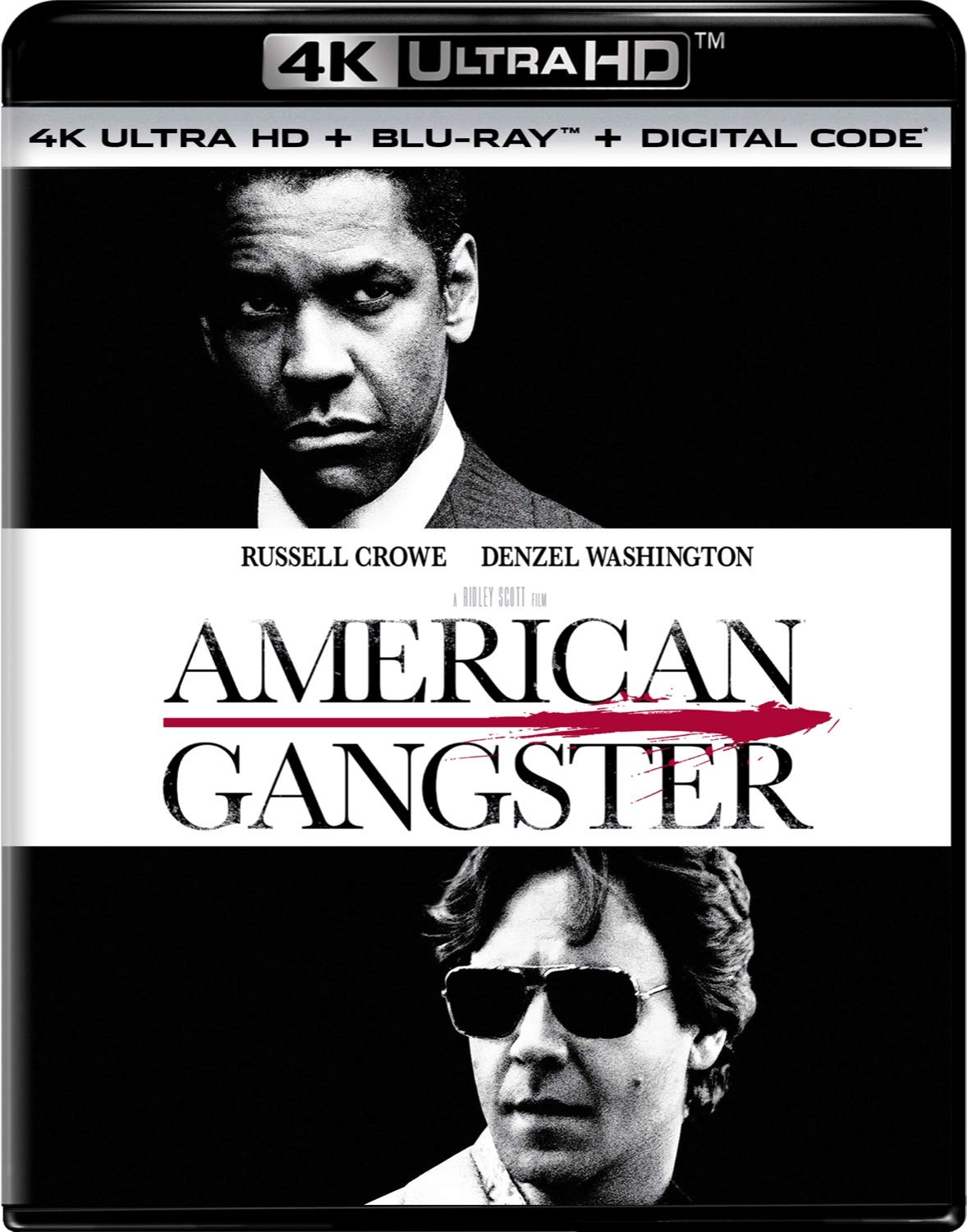 American Gangster Extended 4K Ultra HD + Blu-ray + Digital
