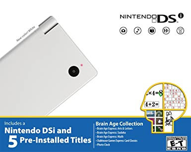 Nintendo DSi Bundle - White - Bundle Edition: Nintendo DS