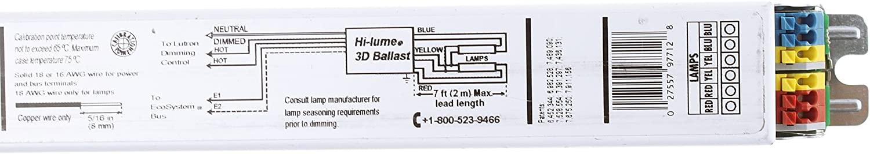 Lutron H3DT528CU210 HI-LUME 3D Rapid Start Fluorescent Dimming Ballast