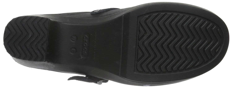 Crocs Damen Sarah Clogs Clogs Sarah Schwarz (schwarz/schwarz/schwarz) 4fcce3