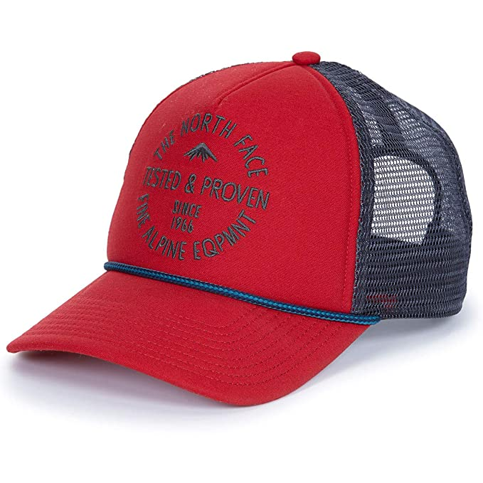 58ea1694fd9 Image Unavailable. Image not available for. Color  The North Face Cross  Stitch Trucker Hat ...