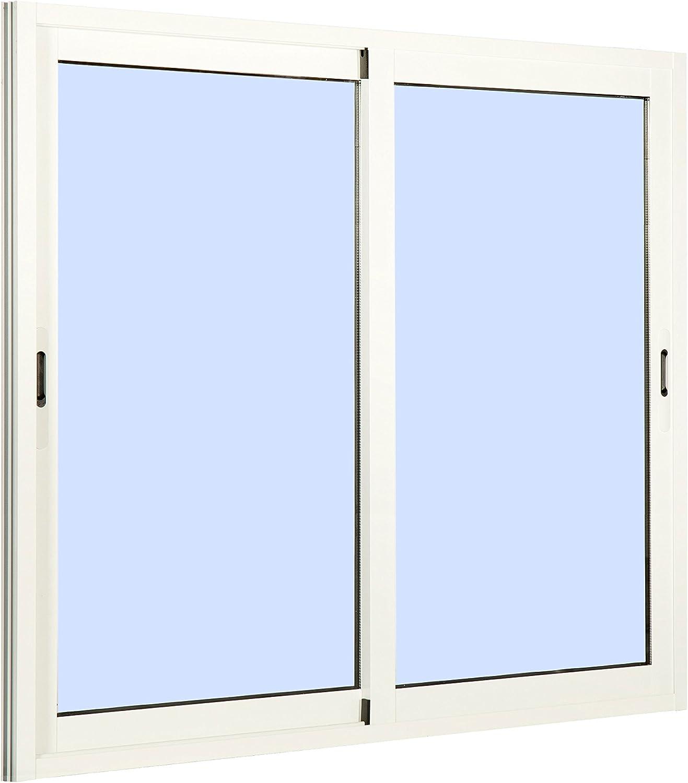 Ventana Aluminio Corredera 800 ancho x 800 alto 2 hojas: Amazon.es: Bricolaje y herramientas
