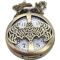 Reloj de bolsillo comic murcielago