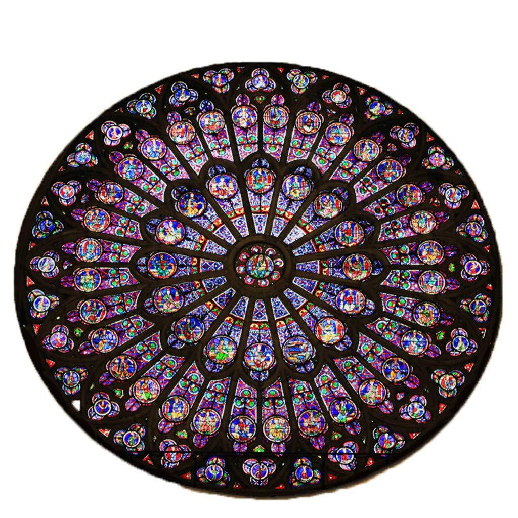 Decoraci/óN C/óModa para El Hogar YWLINK Durable Antideslizante Creativa Notre Dame Alfombras Regalo para La Familia Foto Conmemorativa