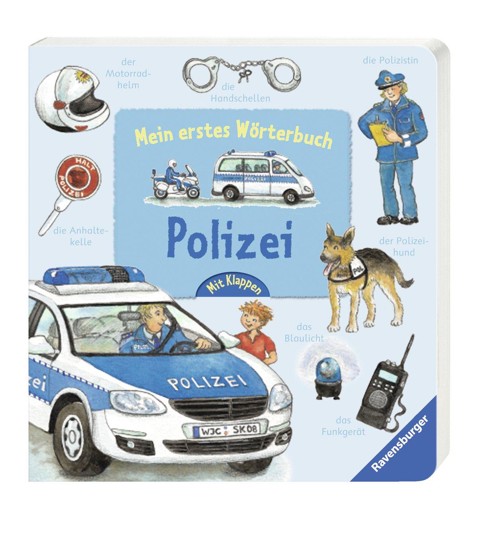 Mein erstes Wörterbuch: Polizei