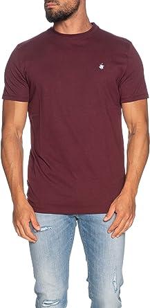 Beverly Hills - Camiseta para Hombre, Mod. BHPC6282 Burdeos