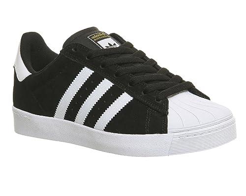 new style f60b8 cbda9 Adidas Superstar Vulc ADV, Core Black FTWR White Gold Metallic, 13,5   Amazon.es  Zapatos y complementos