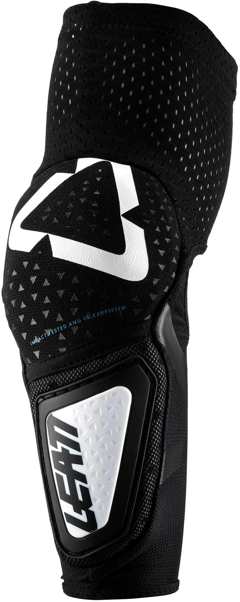 Leatt 3DF Hybrid Elbow Guards-White/Black-XXL by Leatt Brace