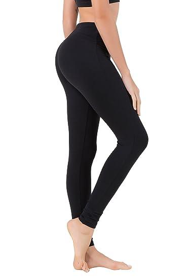 92f96a6b67e Queenie Ke Women Power Flex Yoga Pants Workout Running Leggings Size XS  Color Midnight Black Long