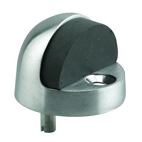 Cast Brass Prime-Line MP4545 Door Stop 1-5//16 Inch Floor Mount Pack of 1 Brushed Chrome Finish