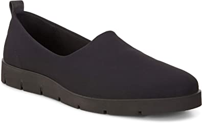 ECCO Women's Women's Bella Slip On Flat Black, 39 EU 8 8.5