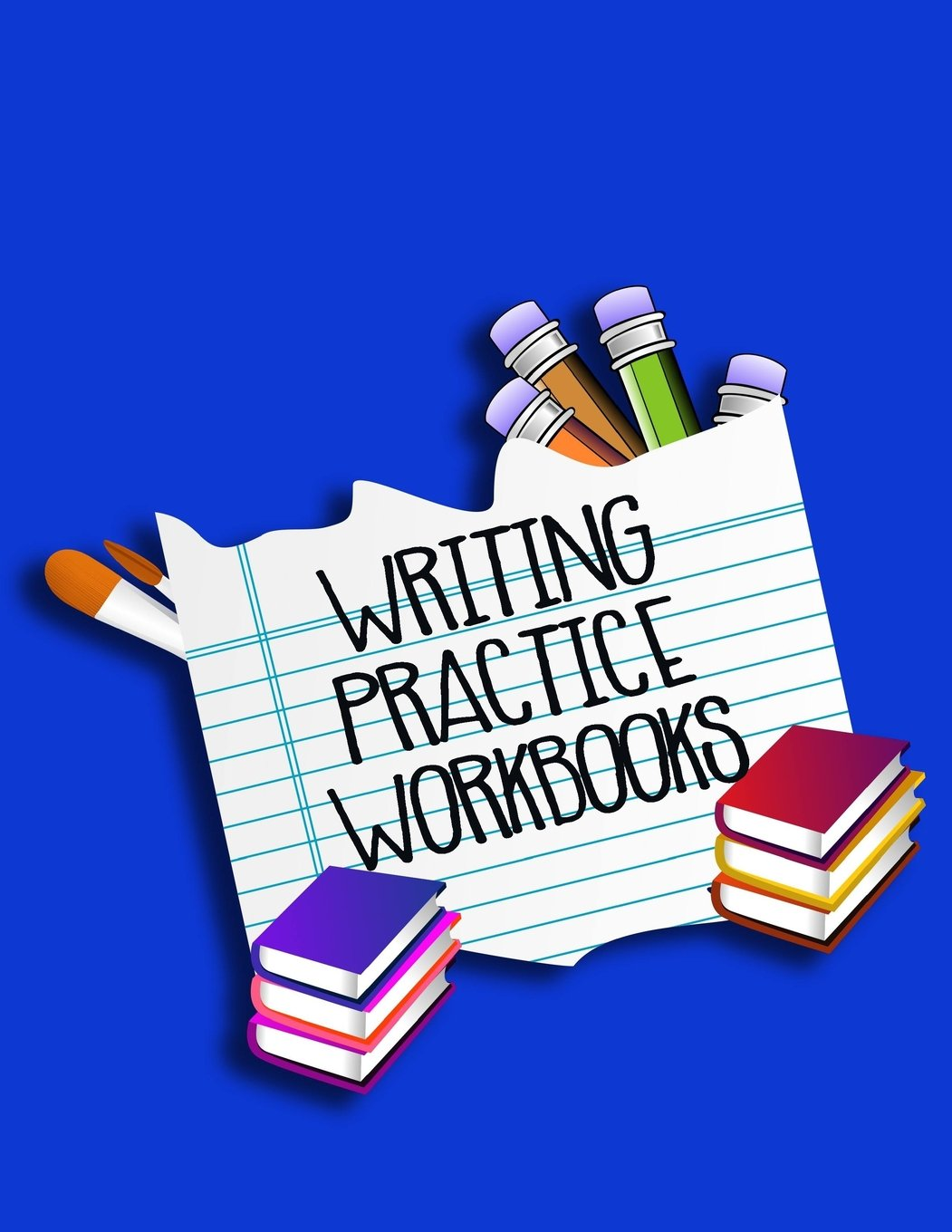 "Download Writing Practice Workbooks: Letter Tracing Practice Book For Preschoolers, Kindergarten (Printing For Kids Ages 3-5)(5/8"" Lines, Dashed) ebook"