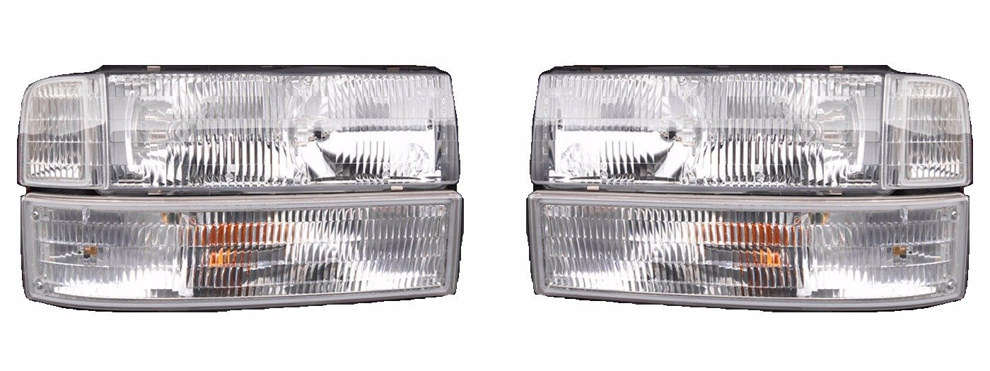FLEETWOOD PACE ARROW VISION 2000 2001 TURN SIGNAL LIGHTS FRONT LAMPS PAIR RV