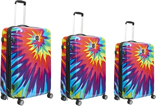 Tie Dye Printed Business Luggage Protector Travel Baggage Suitcase Cover 4 Size