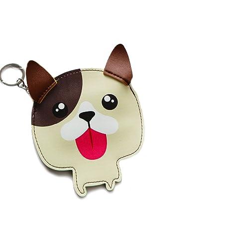 Amazon.com: Moda lindo perro colgante llavero llavero ...
