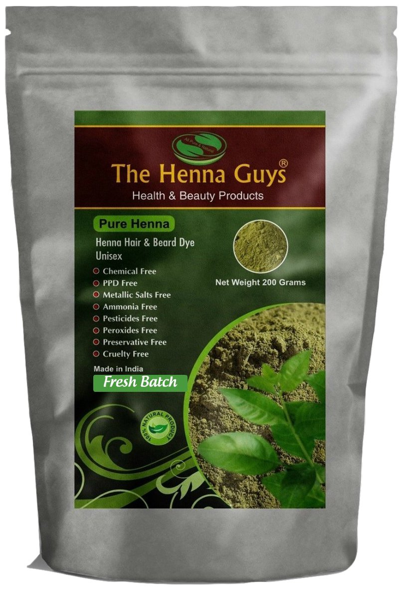 Amazon Com The Henna Guys 100 Pure And Natural Henna Powder For