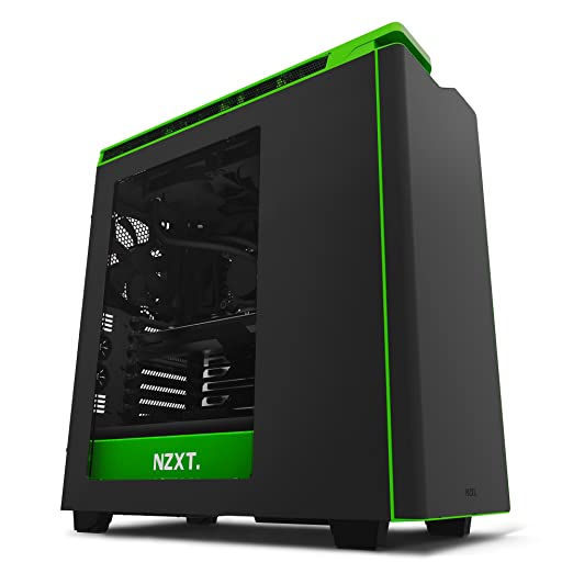 55 opinioni per NZXT CA-H442W-M9 Midi-Tower Black,Green computer case- computer cases