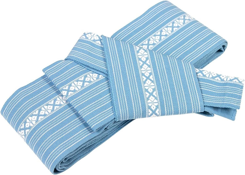 KYOETSU Mens Japanese Kaku Obi Kimono belt Cotton