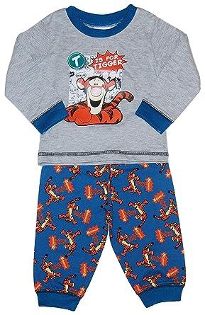 585e222da8ccd Bébé Disney Winnie l ourson Bébés Garçons Tigrou Pyjama Tailles 6-24 Mois   Amazon.fr  Vêtements et accessoires