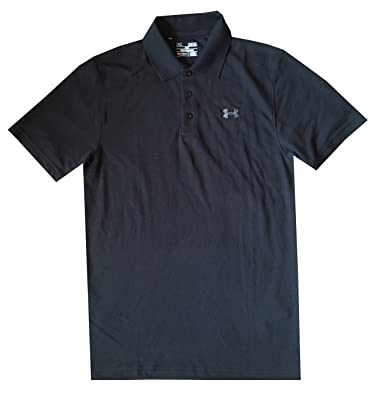 Under Armour UA Golf para Hombre Mezcla de algodón Polo Camiseta ...