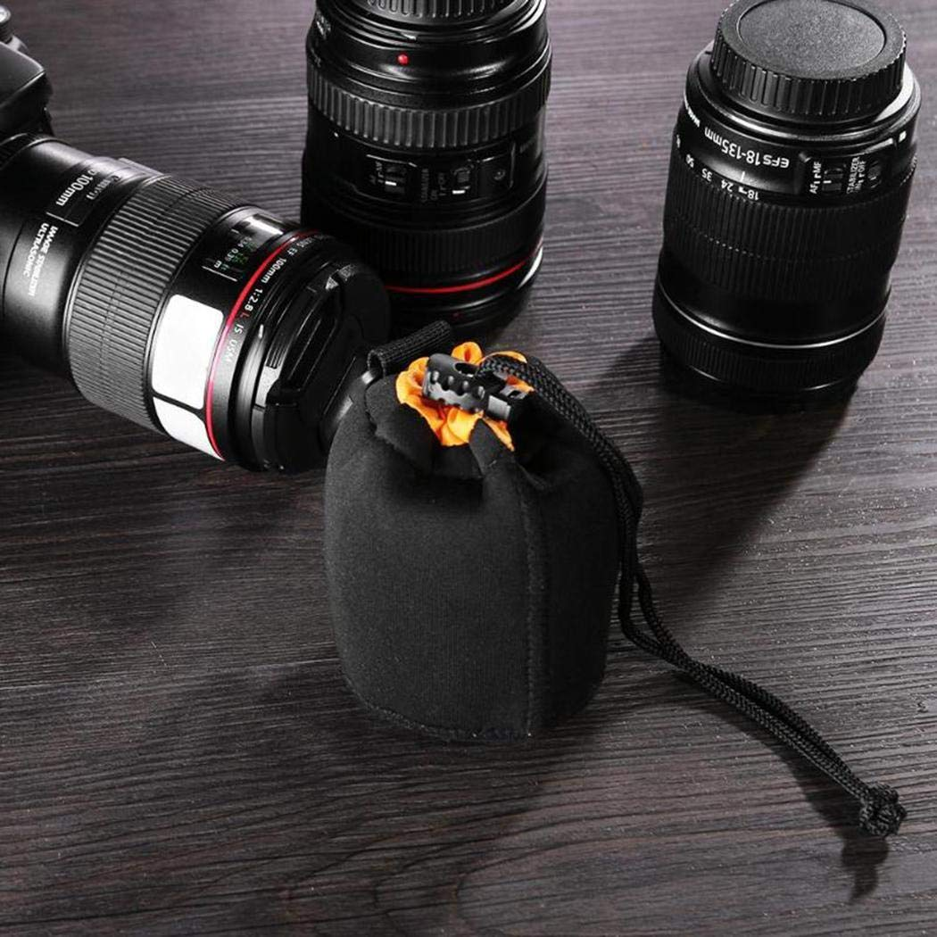 UpBeauty Camera Lens Bag Waterproof Thickened Fleetened Camera Lens Pack Camera Cases