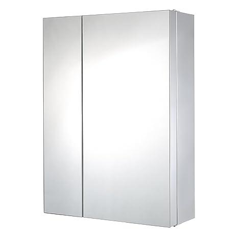 Lyndan - Grande armadio a doppia parete in acciaio inox a specchio ...