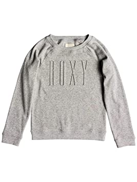 Roxy Wind Blew - Sweatshirt - Sudadera - Chicas - Gris