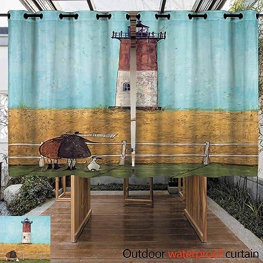 VIVIDX Cortina Estor Aislante Vertical Ancha, protección de Muebles para Interiores y Exteriores, con Ojales en la Parte Superior y Panel de Cortinas Opacas para Puerta corredera de Vidrio.: Amazon.es: Jardín