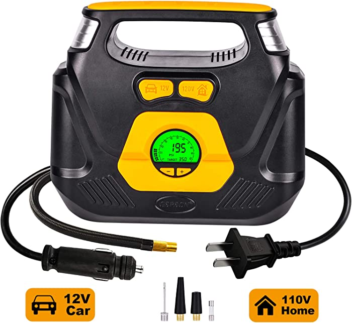 The Best Home Tire Inflator 110V