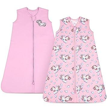 M Baby Toddler Pink Wearable Soft Sleep Blanket Sleeping Bag Sack Sleeveless
