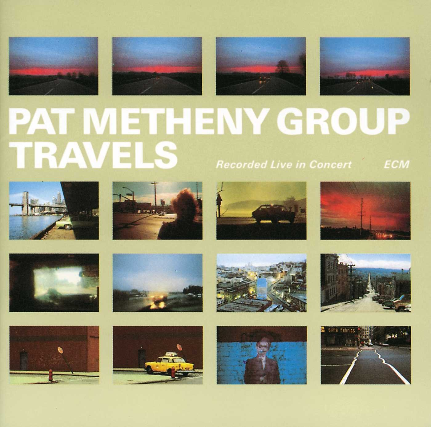 CD : Pat Metheny - Travels (2PC)