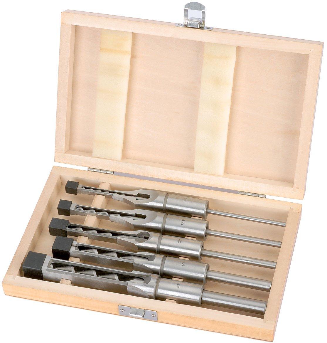 Draper 40406 Coffret mèches à bédane carré 5 pièces (Import Grande Bretagne)
