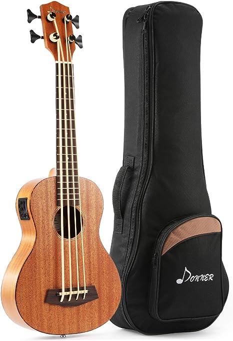 Donner - Ukulele Tenor DUB-1 Ukelele Bass Ukelele Acústico ...