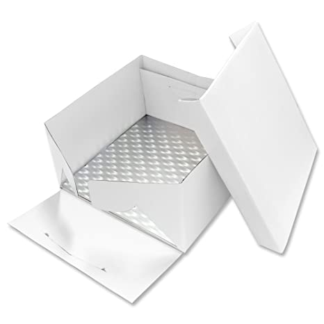 PME Tarjeta Cuadrada para Pastel y Caja para Pastel 11 Pulgadas / 28 cm