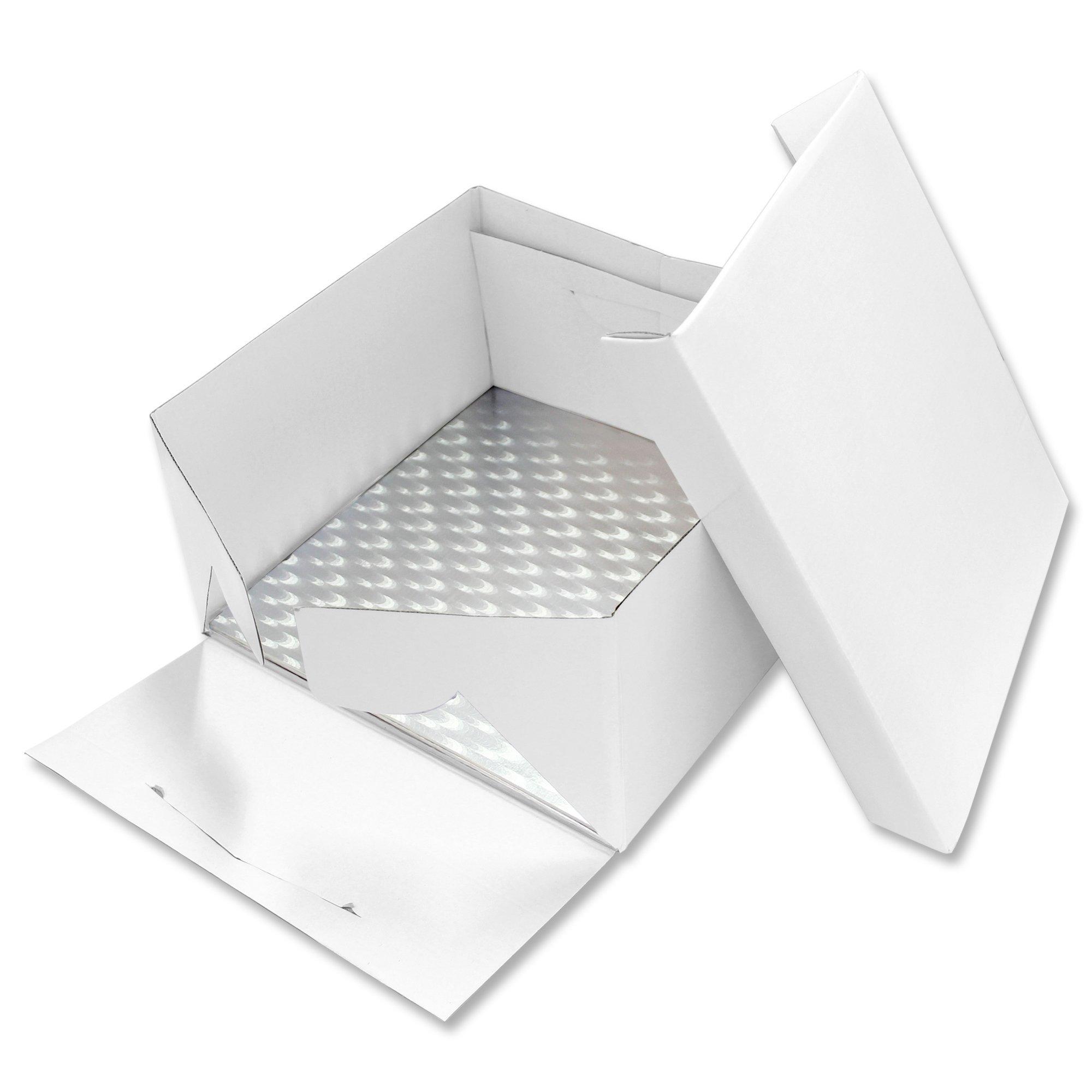 PME BCS878 Cake Square Card/Board, Standard, White