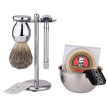 Premium Luxury Shaving Gift Set with ShaveMaxx Safety Razor dbc54f249d31c