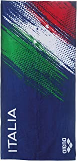 Arena Italia Towel Toalla, Azul Marino, Talla única Talla única 001017_700_TU