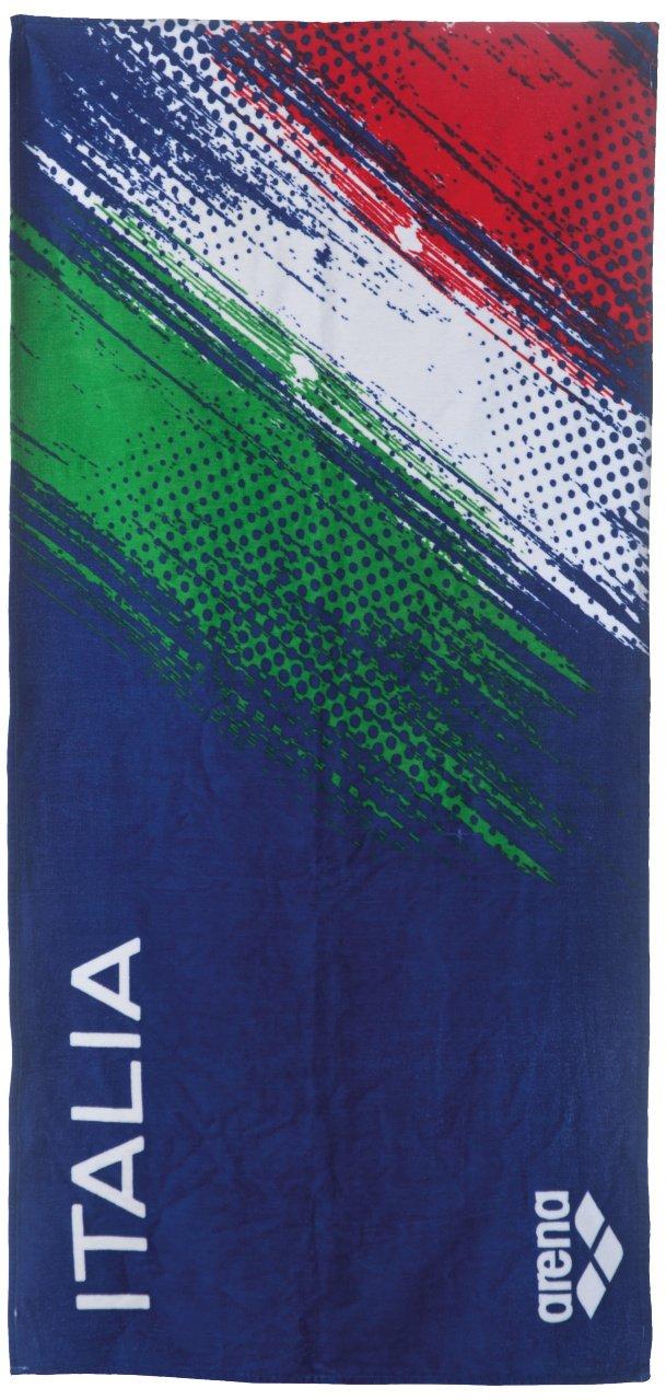 Arena Italy Towel Asciugamano, Navy, Taglia Unica 001017_700_TU