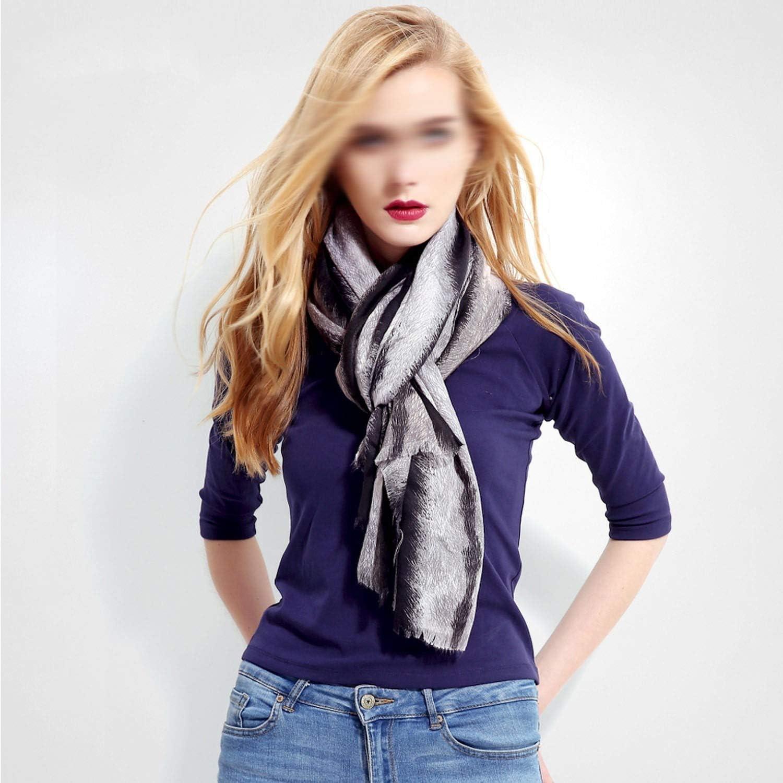 Warm Winter Cotton Scarf Women Luxury Scarves Foulard Femme Print Bandana Large Long Soft VR002