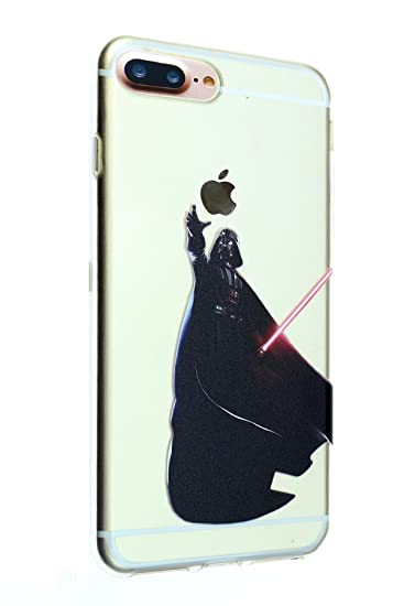 best service a07e6 aaf16 iPhone 8 Plus Case, iPhone 7 Plus Case, IMAGITOUCH Star Wars Darth Vader  Anti-Scratch Shock Proof Slim Fit Flexible TPU Case Bumper Cover for iphone  8 ...