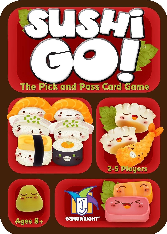 Juego de Mesa Sushi go, el Juego de Robar y Pasar, de Gameright: Amazon.es: Juguetes y juegos