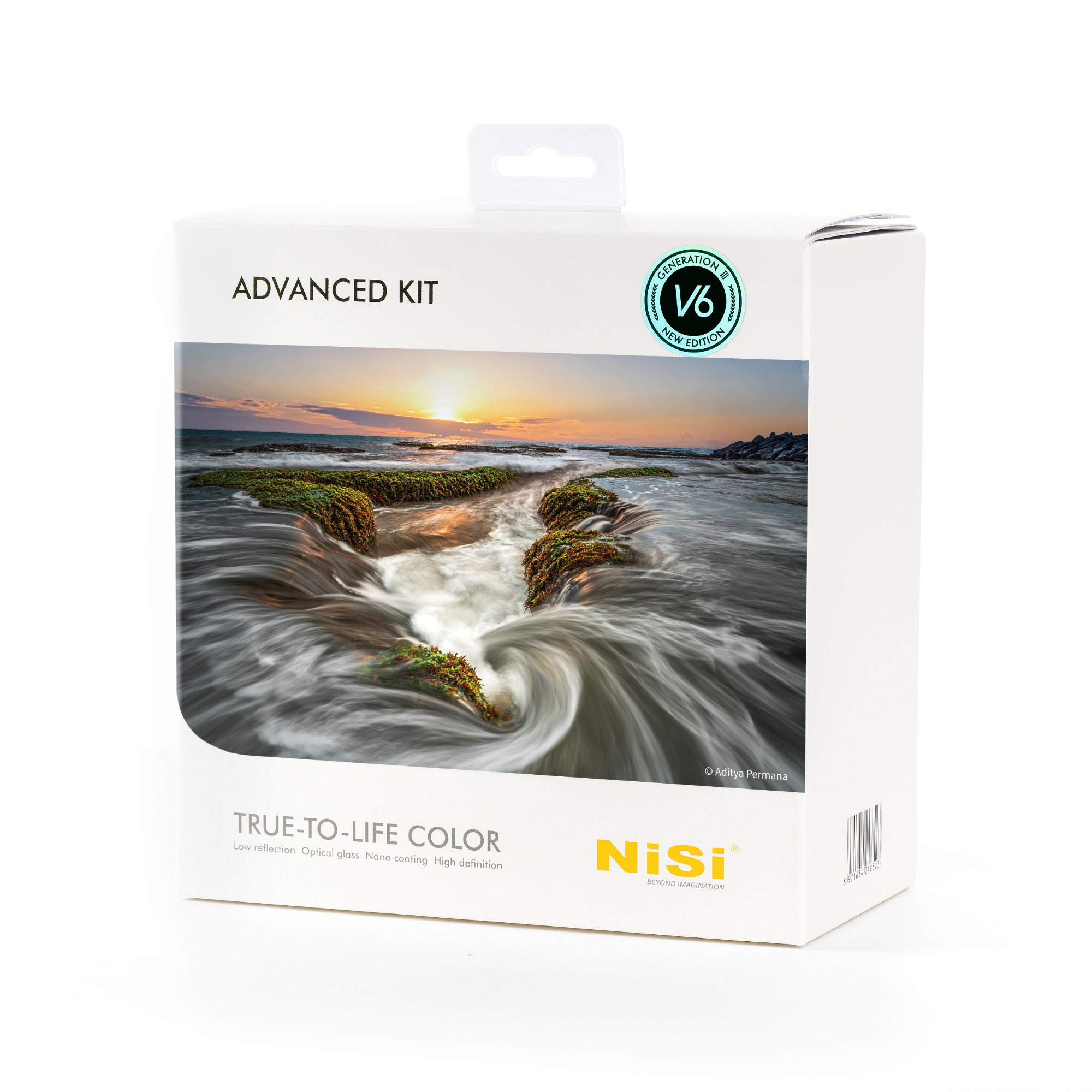100mm Advanced Kit III with V6 Filter Holder and Enhanced CPL (NiSi) by NiSi