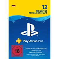 PlayStation Plus Mitgliedschaft | 12 Monate | PS4 Download Code - deutsches Konto