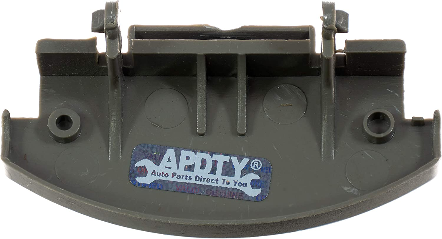 APDTY 120036 Center Console Lid Latch Repair Gray
