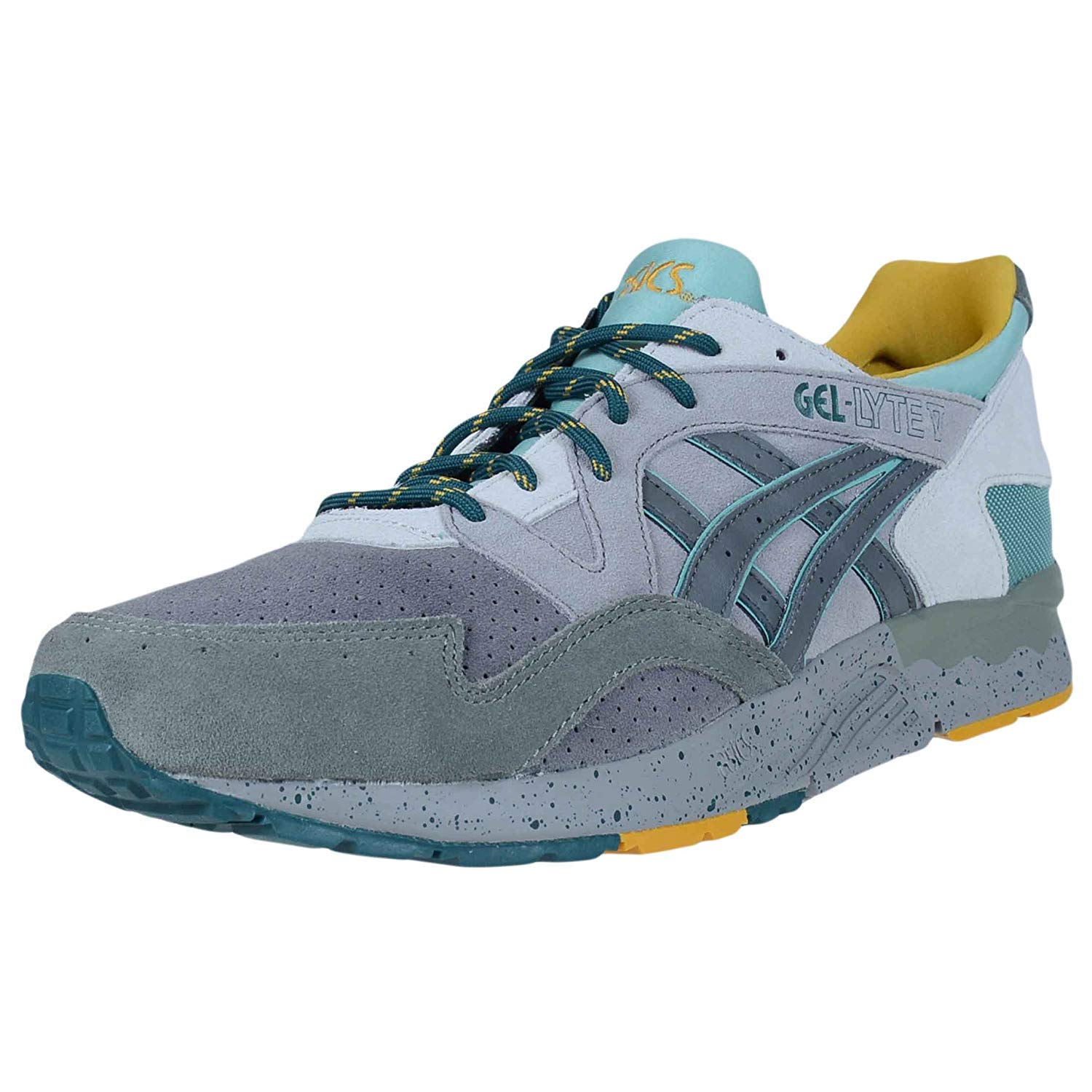 buy online 647d2 03f60 ASICS Mens Tiger Gel-Lyte V Shoes, Size: 7.5 D(M) US, Color Aluminum/Carbon