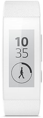 Sony SWR30 - SmartBand Talk (resistente al agua, 300 horas batería, WiFi), blanco
