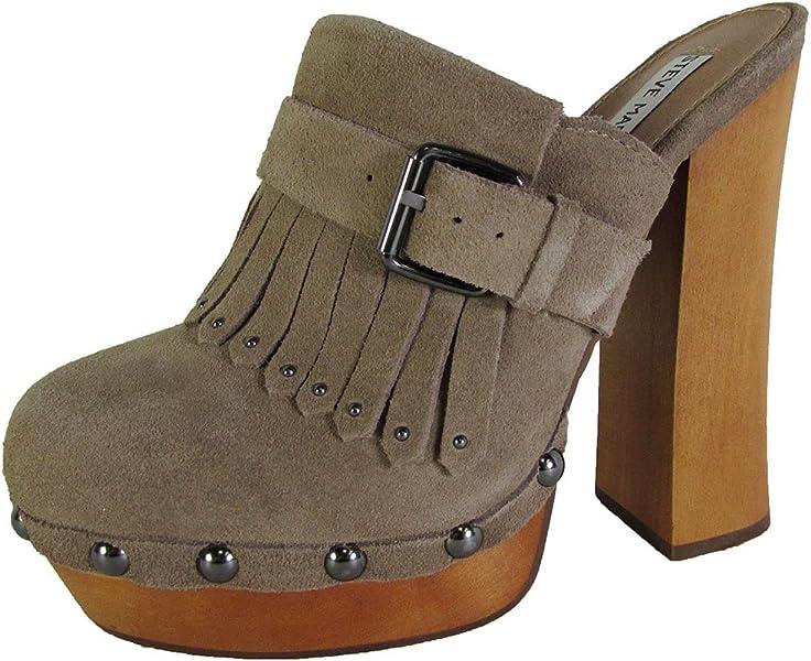c35d86f76b4 Steve Madden Womens Helgga Studded Mule Clog Shoes